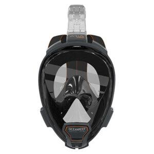 Full Face Snorkel ARIA QR Black