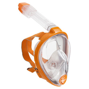Full Face Snorkel ARIA Orange